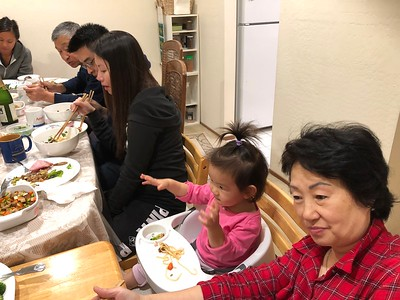 2017 (11/23) Thanks giving dinner at The Chou's