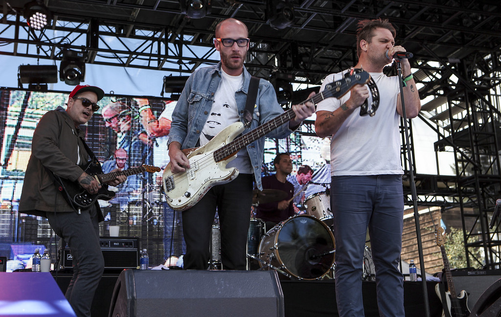 . Cold War Kids perform for the crowd at Bud Light\'s Whatever, USA on September 6, 2014 in Crested Butte, Colorado. (Photo by Jason Bahr/Getty Images for Bud Light)