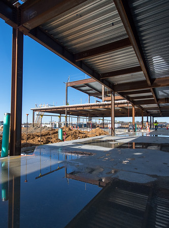 Construction updates at Inspira Medical Center Mullica Hill
