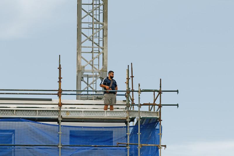 Working construction crane. Update ? . Gosford. January 2019.