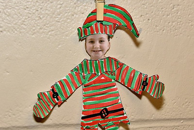 Second Grade Elf Sighting photos by Gary Baker