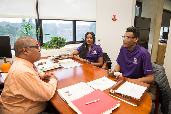 10/22/18 Curtis Brickhouse Meeting with Students