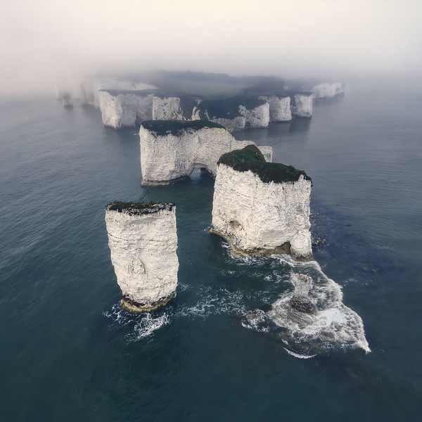 Old Harry Rocks southern england drone morning fog mist.jpg