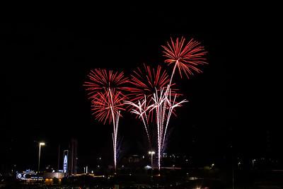 Summer Fireworks at The K