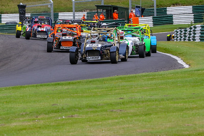 Bumper grids arrived at picturesque Cadwell Park