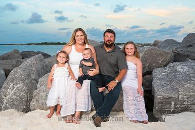 Davis Family Sunset Beach Photography Panama City Beach