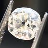 0.94ct Antique Cushion Cut Diamond GIA K Sl1 0