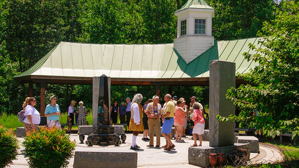 2016 Germanna Reunion - Visitors Center/Memorial Garden