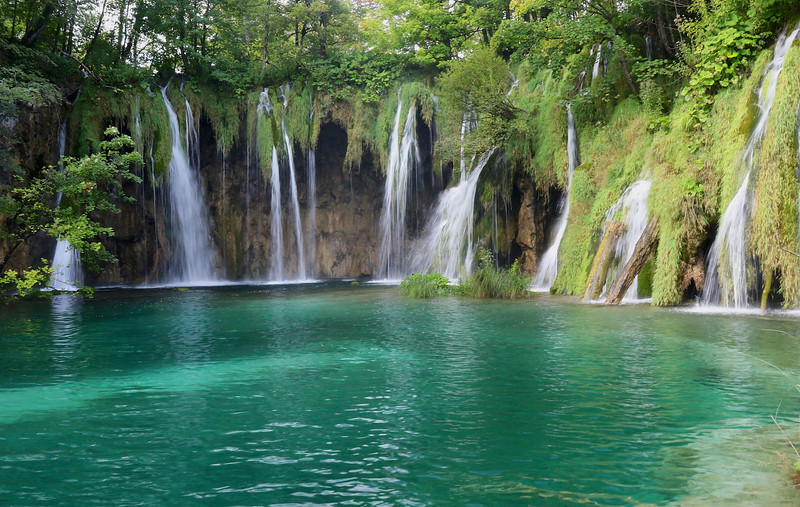 Peace, serenity, azure blues and emerald greens...this place was a dream! - Plitvice Lakes National Park
