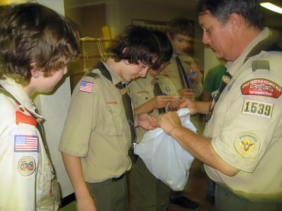 Troop Meeting - Oct 4