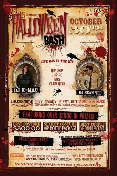 Halloween Bash @ Fahrenheit Ultra Lounge 10.30.10