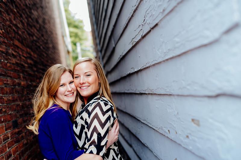 Liz and Trish