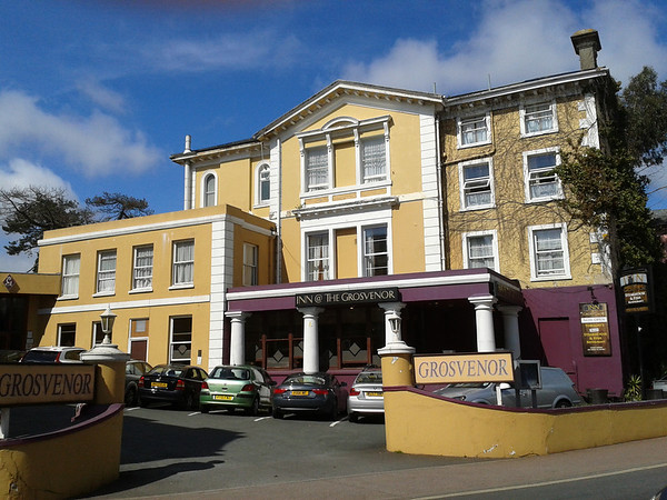 The Grosvenor Hotel,Torquay,Devon 2013.