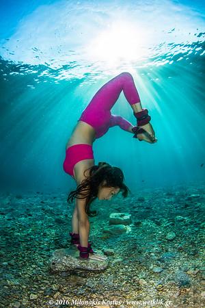 Underwater Yoga