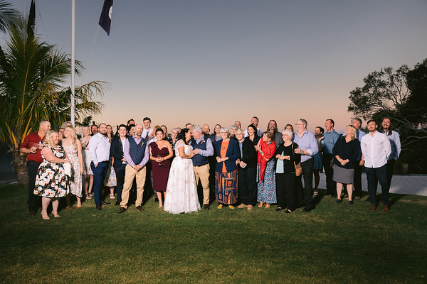 Kath & Dale: Group photos