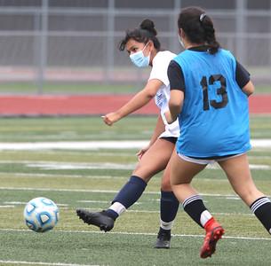 050621 DeKalb girls soccer practice