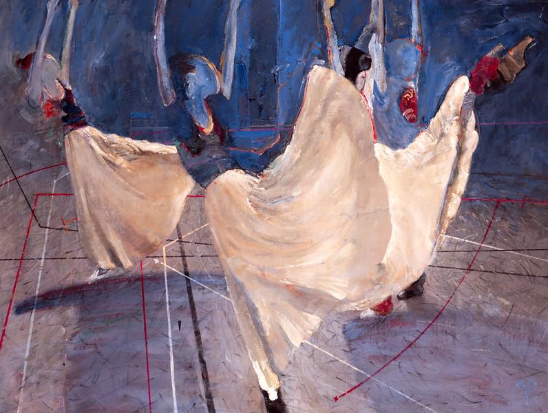 Three White Skirts