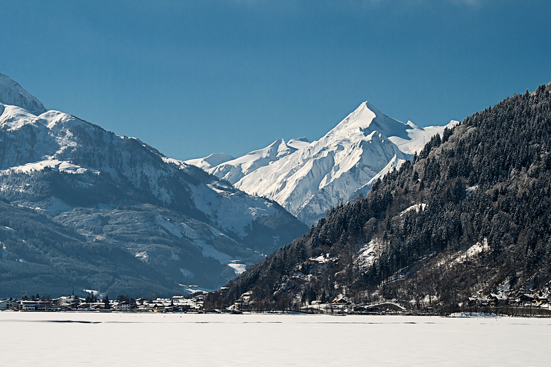 Zeller See in Winter, Zell Am See