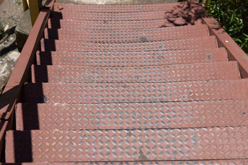 Steps leading to...