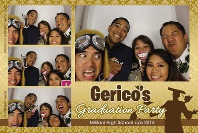Gerico's Graduation (Luxury Photo Booth)