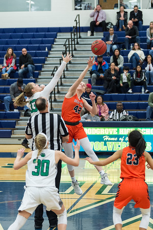 1-24-2020 Briar Woods at Woodgrove Girls Basketball