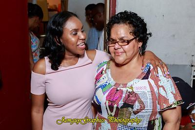 Shequita Graduation party
