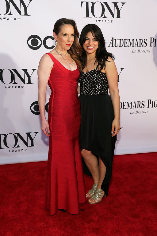 . Choreographer Gypsy Snider and music supervisor Nadia DiGiallonardo attend The 67th Annual Tony Awards  at Radio City Music Hall on June 9, 2013 in New York City.  (Photo by Neilson Barnard/Getty Images)