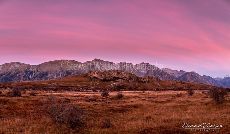 Mount Sunday sunrise