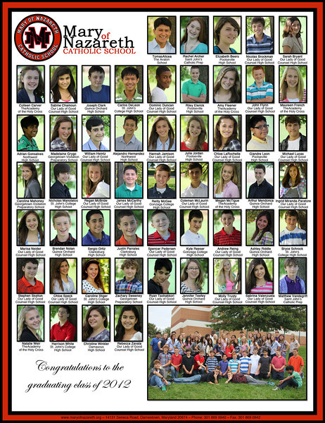 Graduation Layout 2012