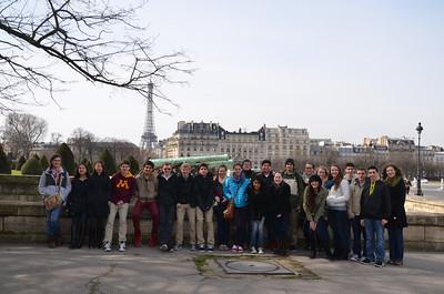 Exchange Trips 2012-13