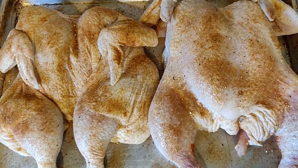 Jamaican Spatchcock Chicken