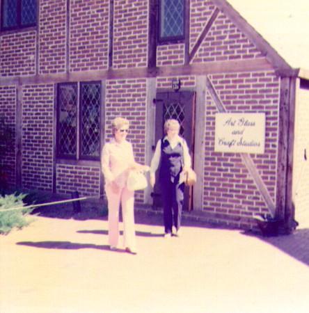 Jane Decker & Bonnie Eldredge at Williamsburg Sep, 1973  .jpg