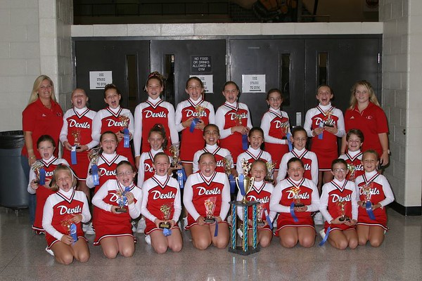 1st Place 5th Grade Cheer-off Champions