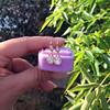 1.51ctw Diamond Mosaic OEC Dangle Earrings 6