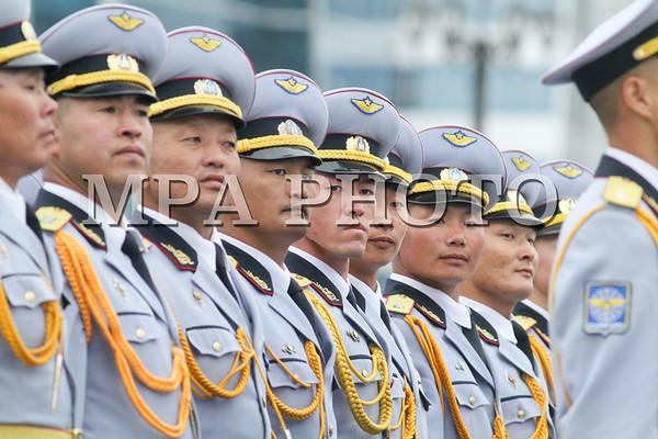 Төрийн далбааны өдөрт зориулсан Хүндэтгэлийн ажиллагаа, цэргийн ёслолын жагсаал