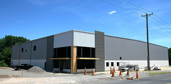 6/19/2018 Mike Orazzi | Staff The new building on Northwest Drive is an expansion by GPA, a paper company in Plainville.