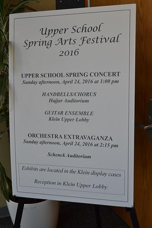 4.24.16 US Spring Arts Festival & Orchestra Extravaganza