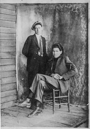 Joe & John Rhyne Genealogy Photos