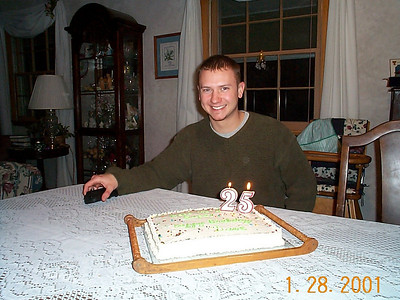 Dave's Birthday at the Gurbals - January 28, 2001