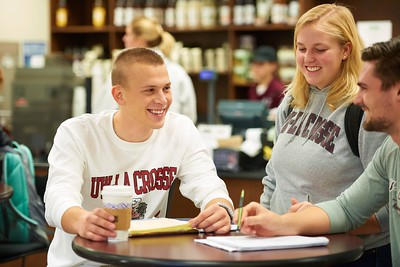 2015 UWL Students Studying Murphy Library