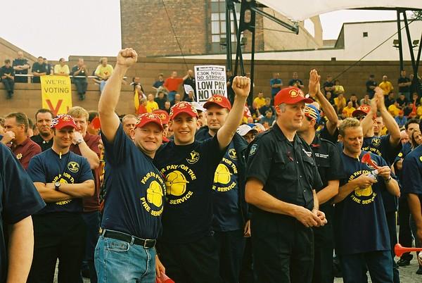 FBU campaign for Fair Pay September /December 2002