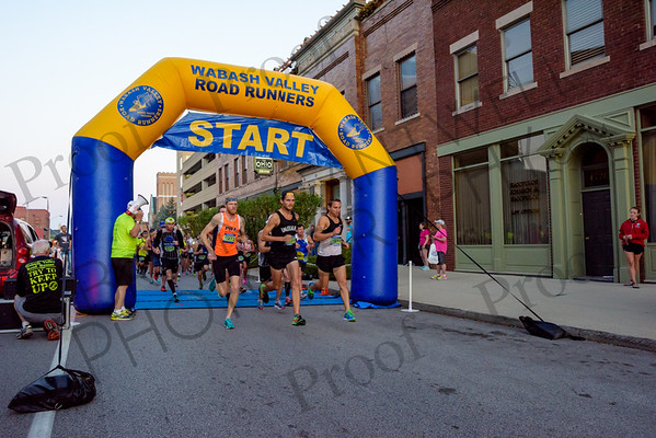 Wabash Valley Road Runners - Crossroads Mini Marathon 2017