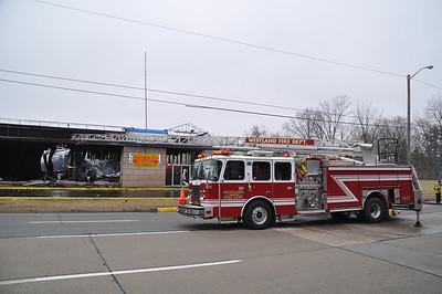 Inkster Fire Multiple Alarm - Western Wayne Mutual Aid