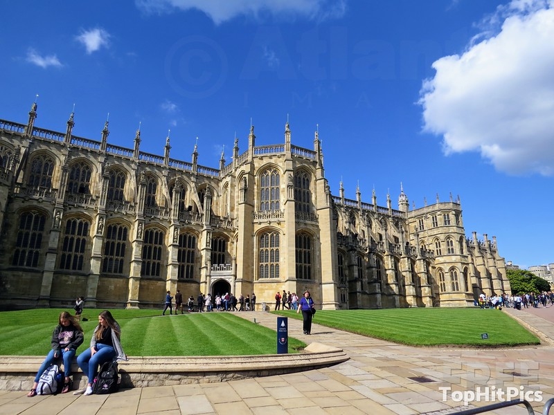 St. George's Gothic Chapel at Windsor Castle, England