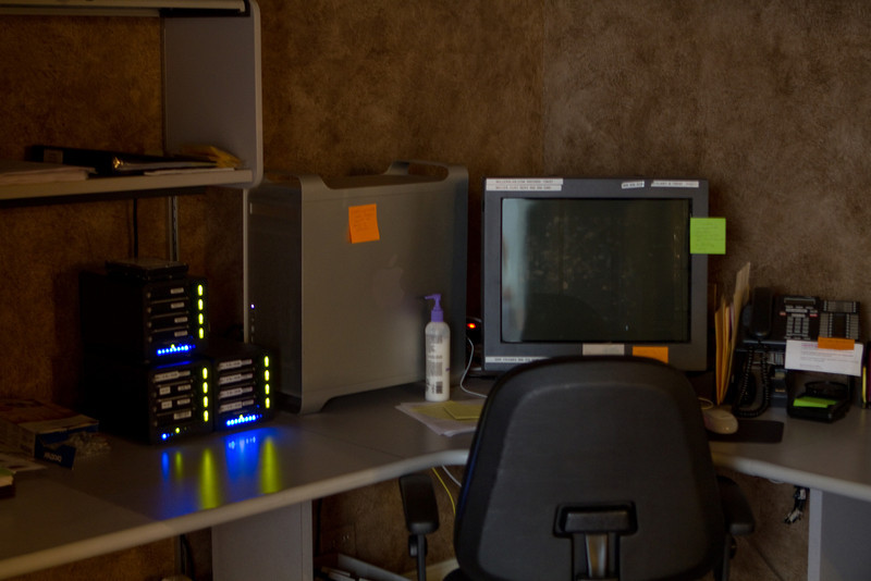 With digital imaging, lots of HDD storage is essential.
