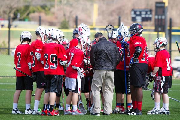 Middle School Lacrosse: GA vs EA