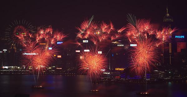Fireworks -- 2008 National Day