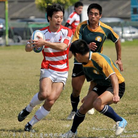 2013年全三菱橄欖球俱樂部訪台(Mitsubishi RFC Visits Taiwan)