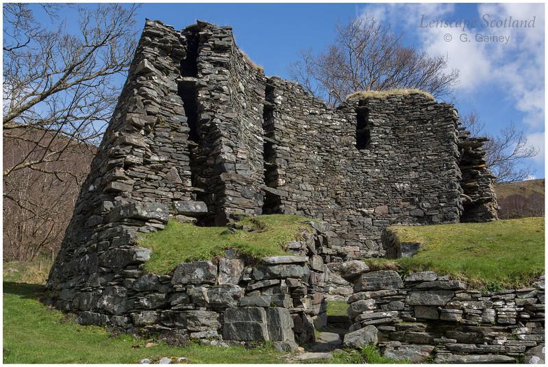 Dun Troddan broch, Gleann Beag (1)