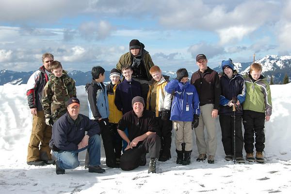 Snowcaving 2008